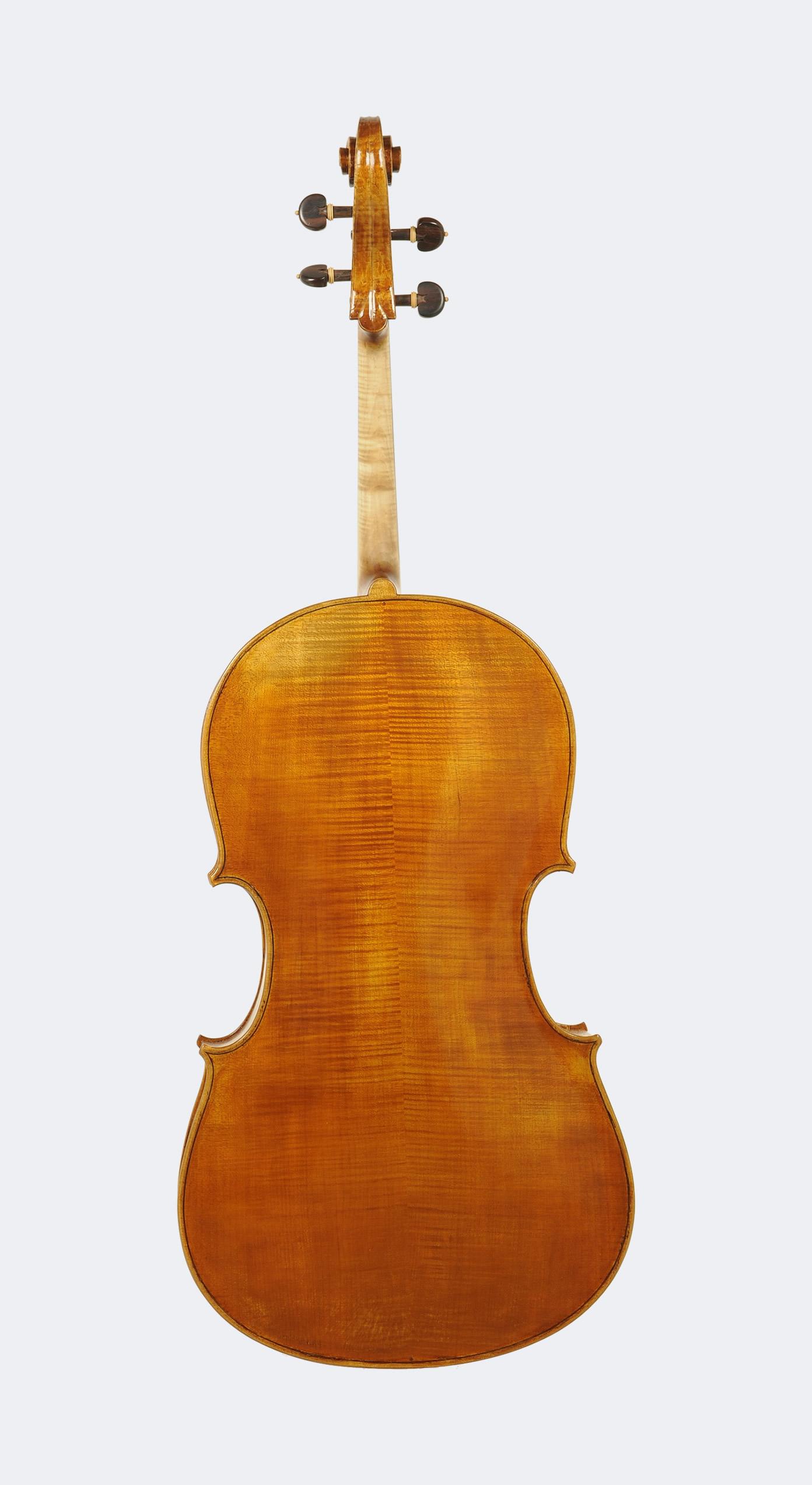 Violoncello modello Domenico Montagnana - retro