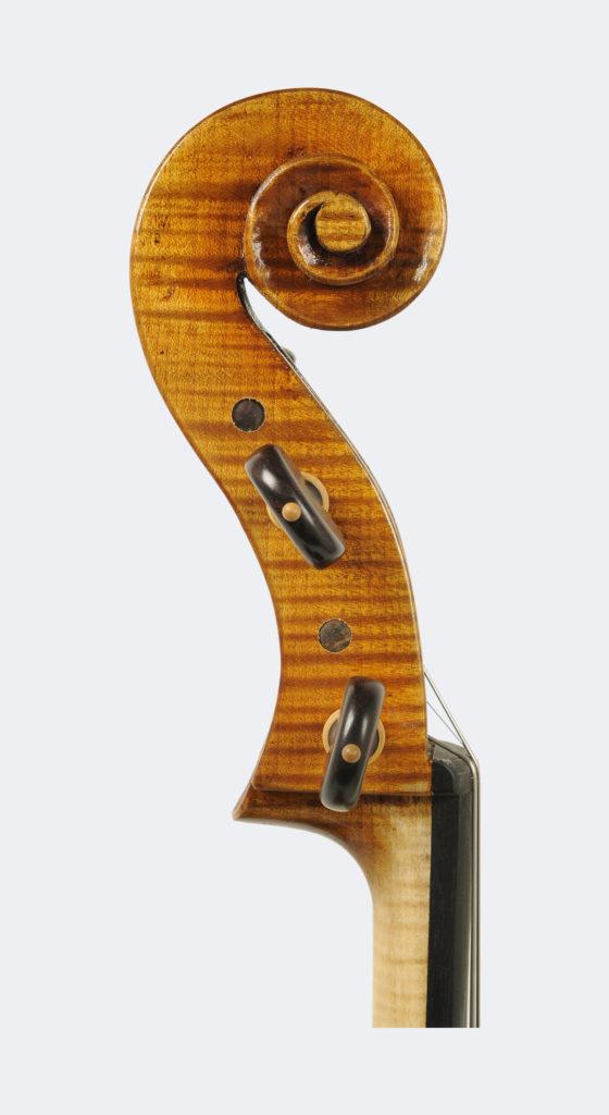 Violoncello modello Domenico Montagnana particolare